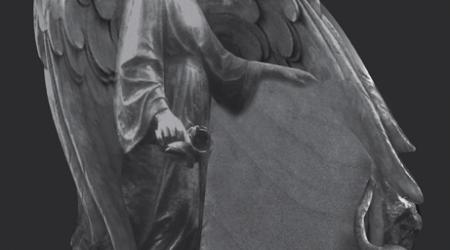 rzeźba w kamieniu - anioł