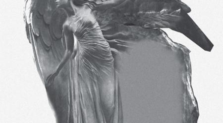 rzeźba w kamieniu projekt przedstawiający anioła