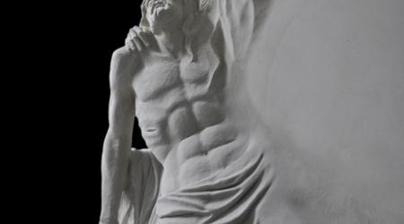 Rzeźba nagrobna Pieta (fragment)